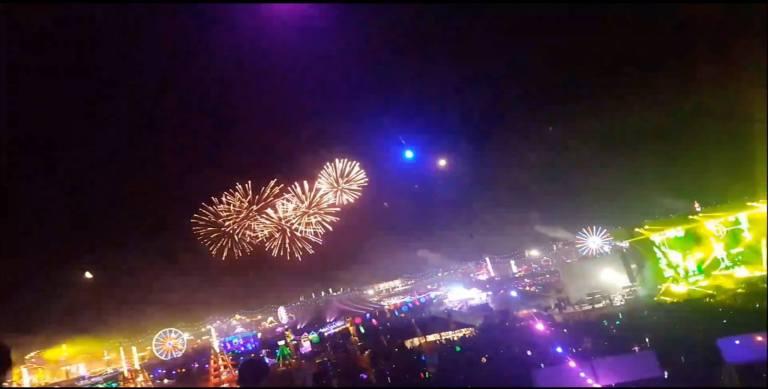 EDC Las Vegas 2017 Fireworks
