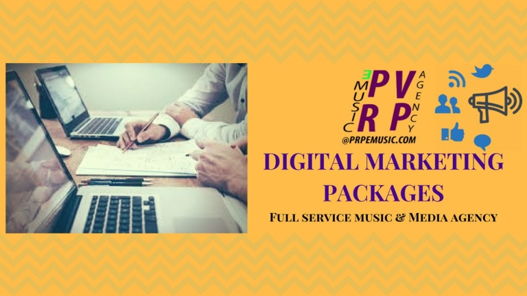 PVRP EMusic Agency: Digital Marketing Packages